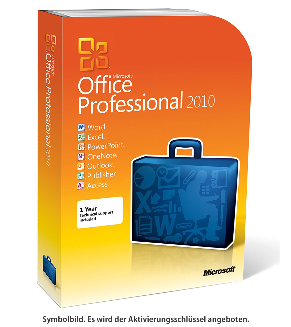Microsoft Office Professional 2010 - SoftwareNinja.de